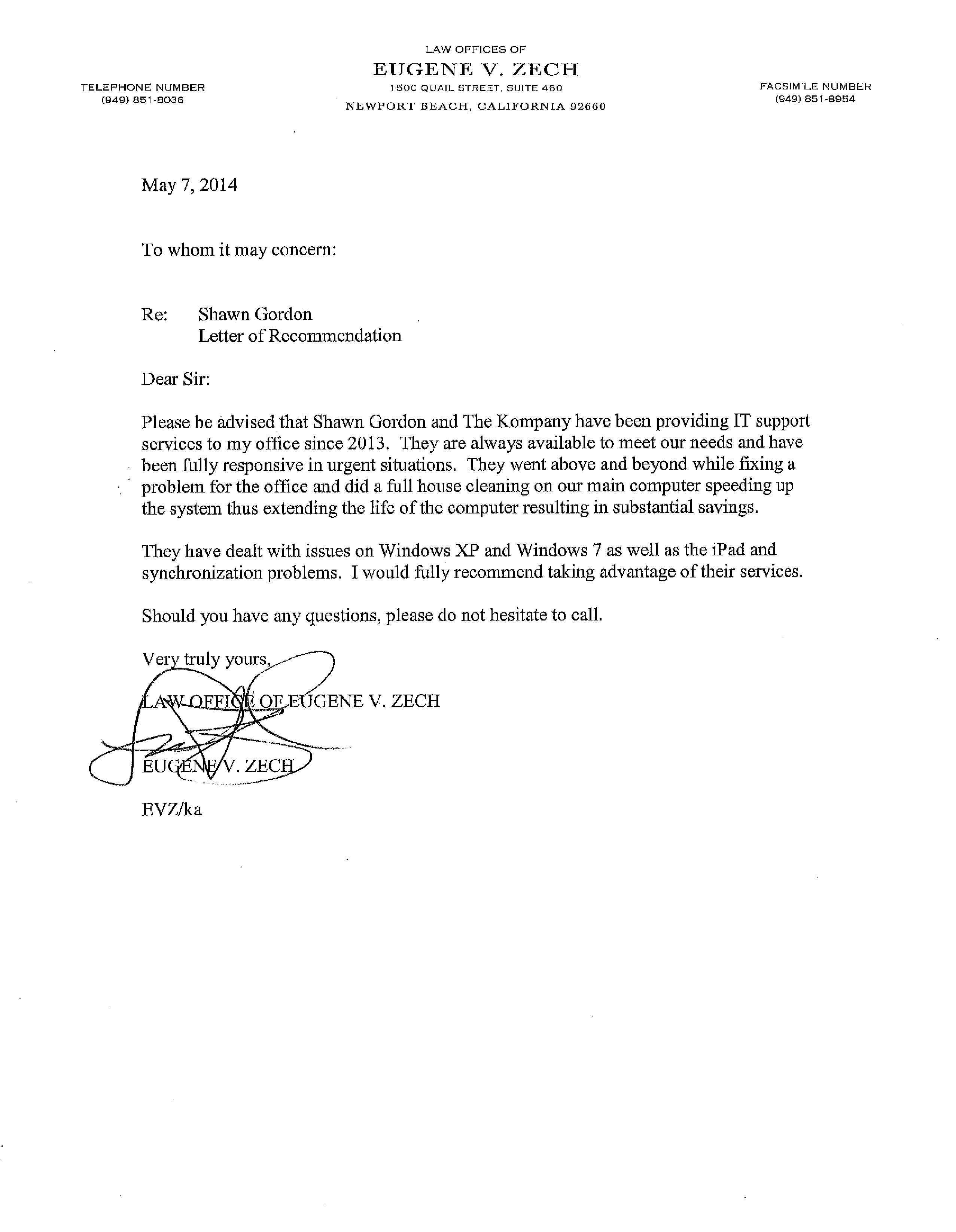 EVZ reference letter 0507141